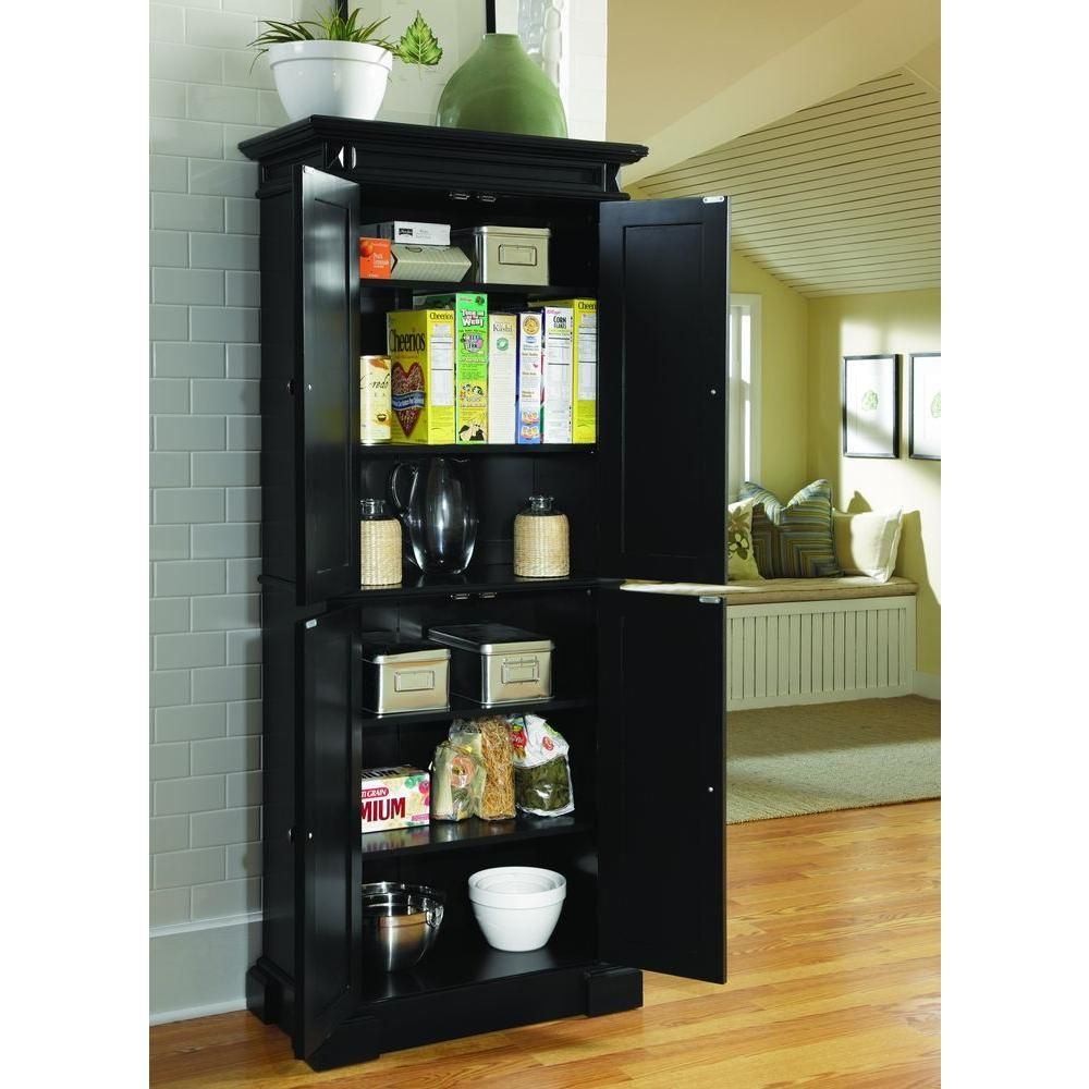 Home Styles Americana Black Food Pantry Products Pinterest