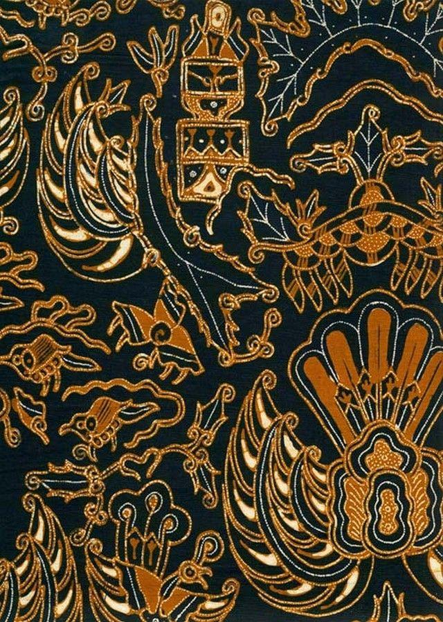 Gambar Batik Yogyakarta - motif Semen Garuda  737a1e5d57