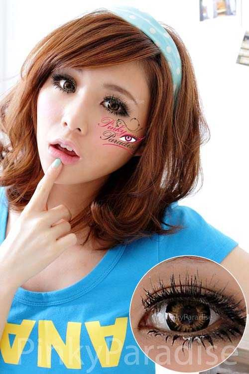 I want these circle lenses :[  Vassen Ruby Brown