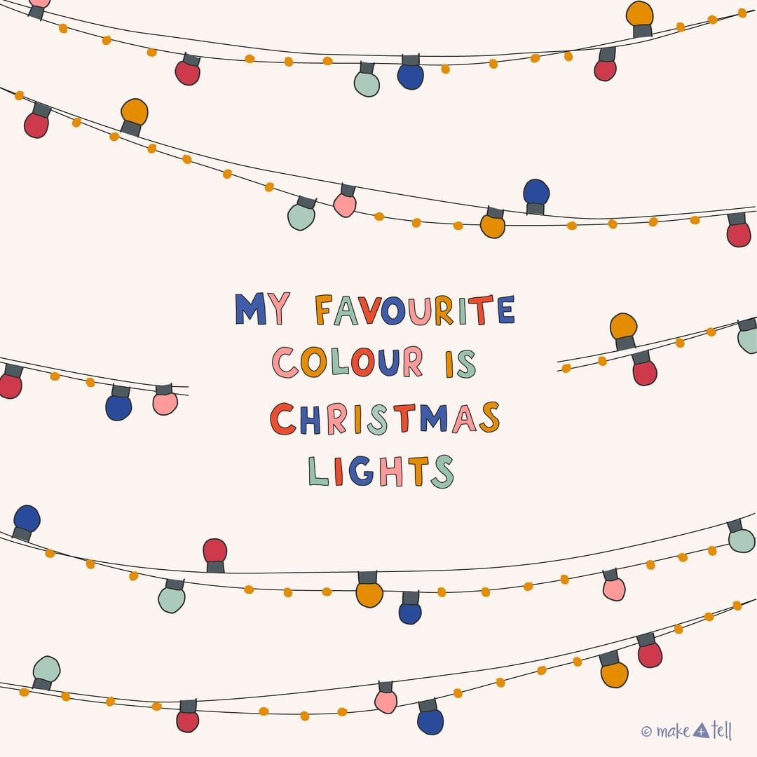 My Favourite Colour Is Christmas Lights Christmas Lights Drawing Christmas Lights Yuletide Decorations