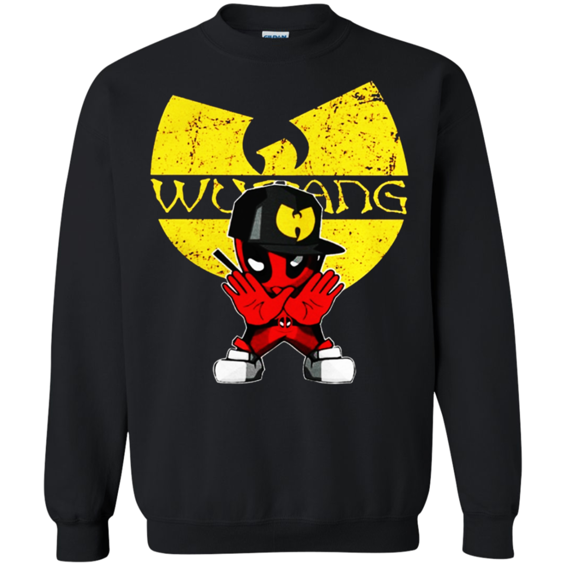 sneakers for cheap 00b3b 72949 Deadpool Wu-tang Shirt, Hoodie, Tank G180 Gildan Crewneck ...