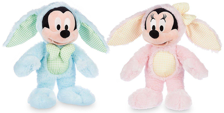 Predownload: Disney Store Mickey And Minnie Mouse Bunny Easter Plush Set Easter Plush Disney Toy Collection Disney Plush [ 759 x 1500 Pixel ]