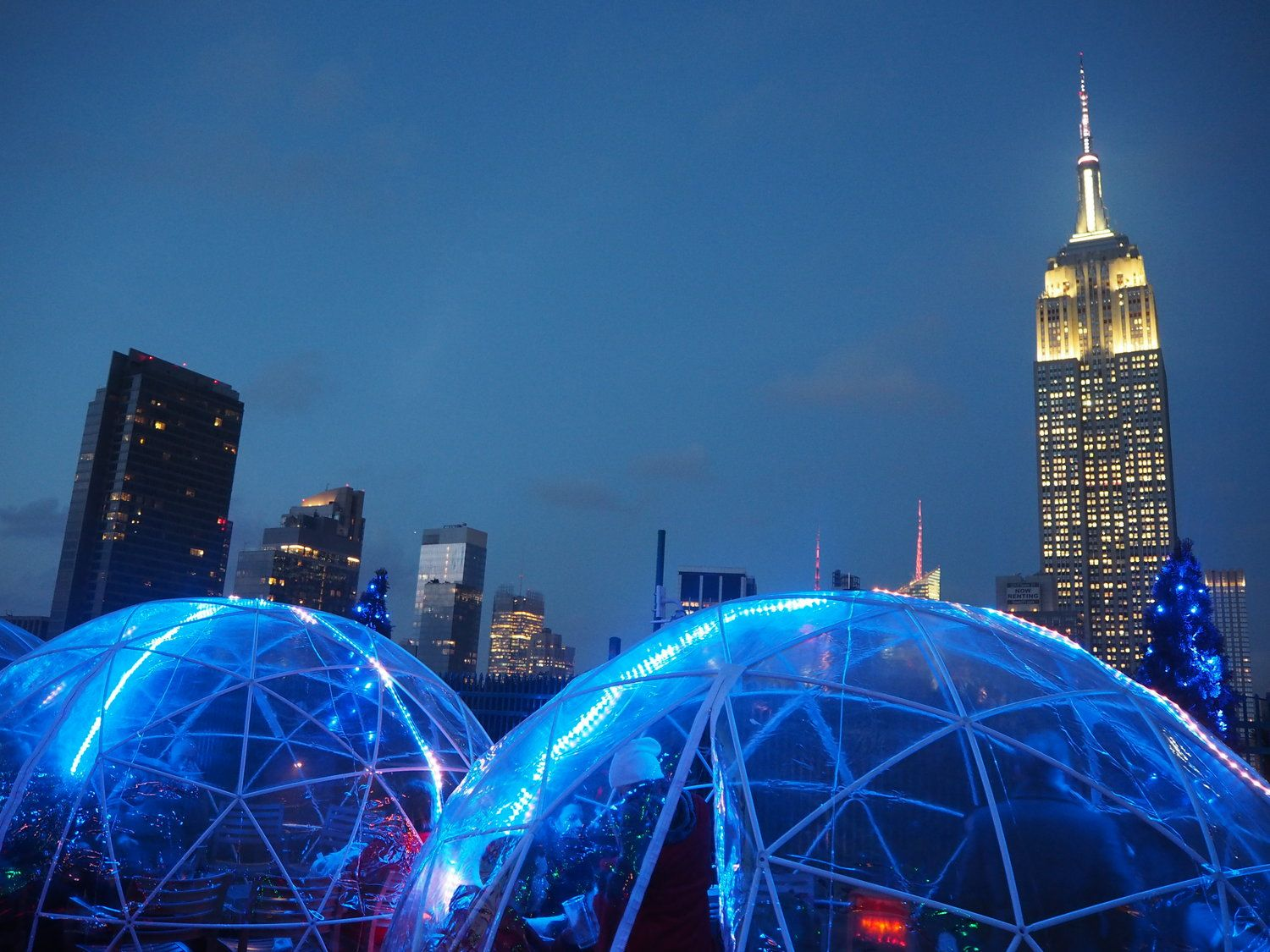 GTGL Snippets: The Igloos at 230 Fifth Rooftop Bar ...