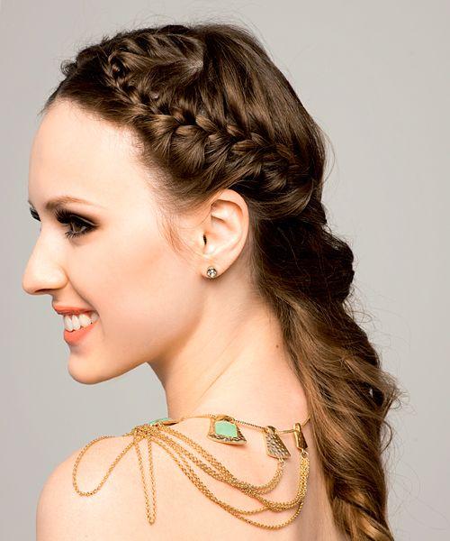 la moda en tu cabello peinados con trenzas para peinados pinterest trenza peinados con trenzas y peinados