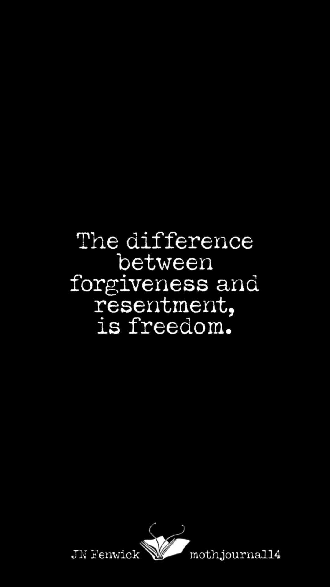 The difference between....