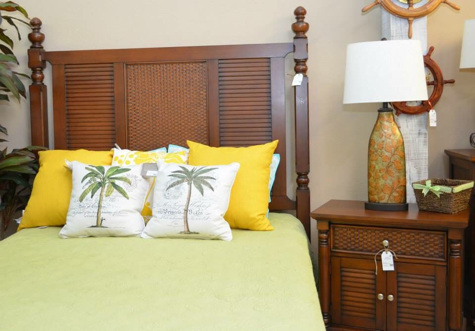 Tropical Bedroom at Island Furniture and Patio www ...