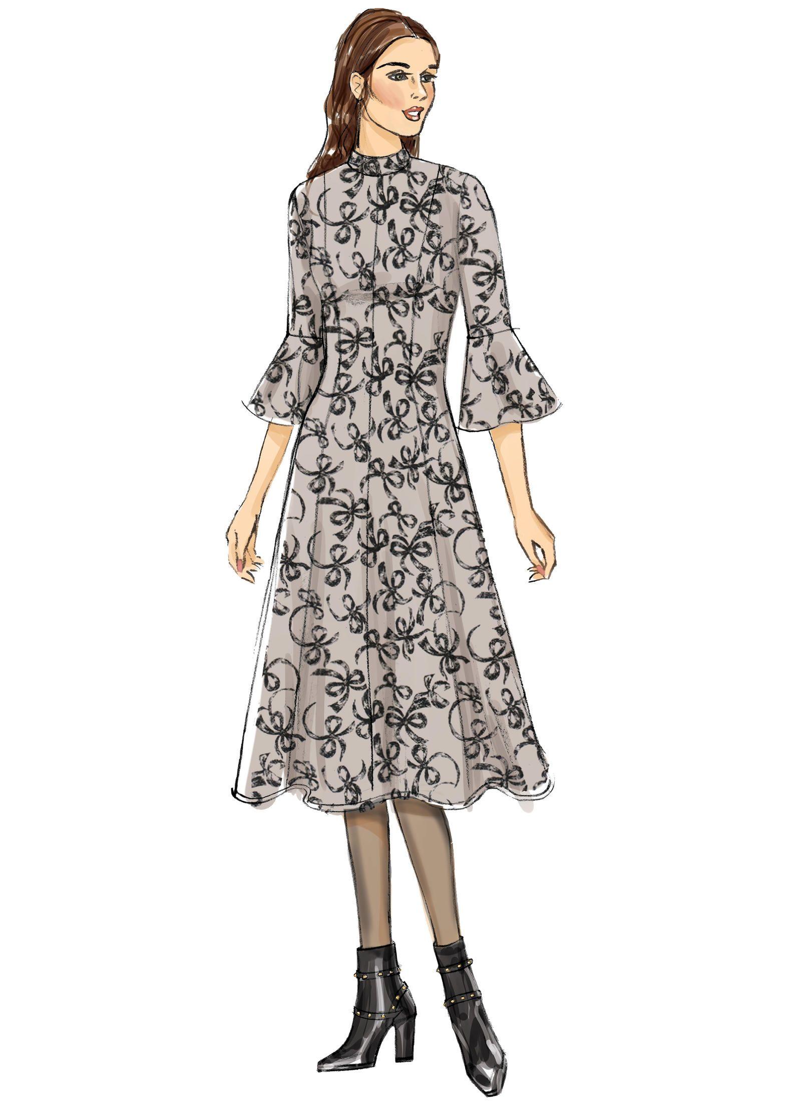 Ziemlich Nähmustern Maxi Kleid Galerie - Strickmuster-Ideen ...