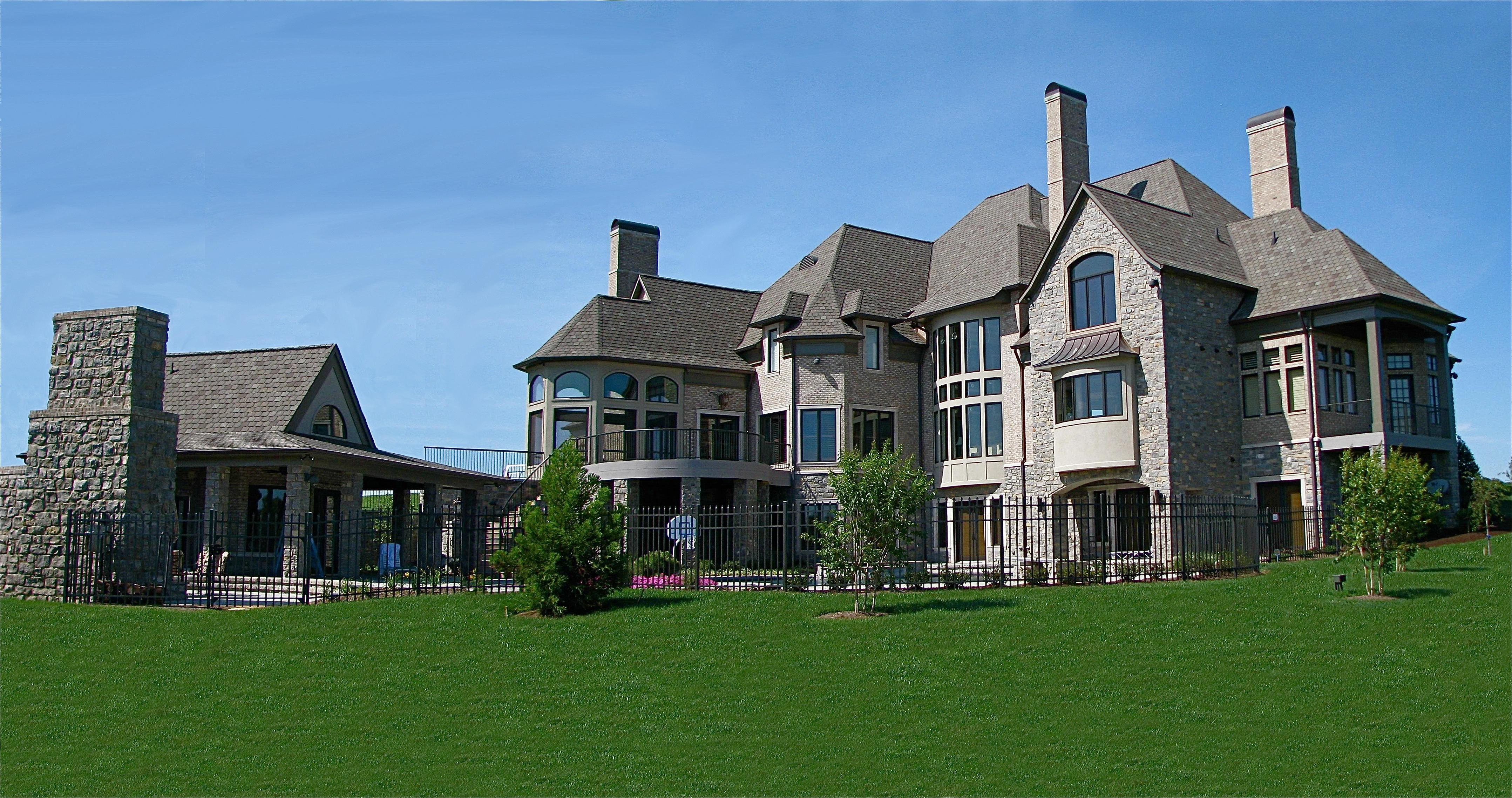 Bon Stone Crest Manor | Stephen Davis Home Design