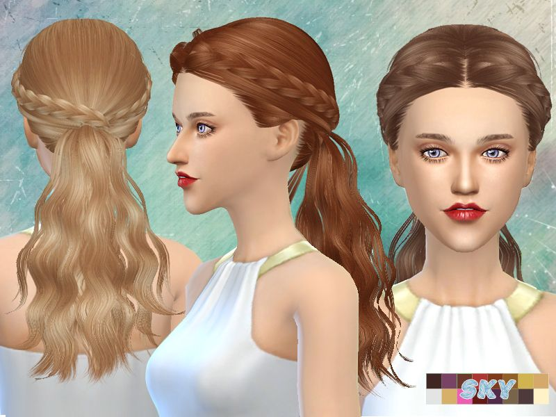 female adult hair Found in TSR Category 'Sims 4 Female