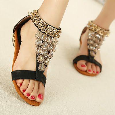 Sandalias Para Dama Sandalias Bonitas Zapatos Mujer Zapatos De Moda