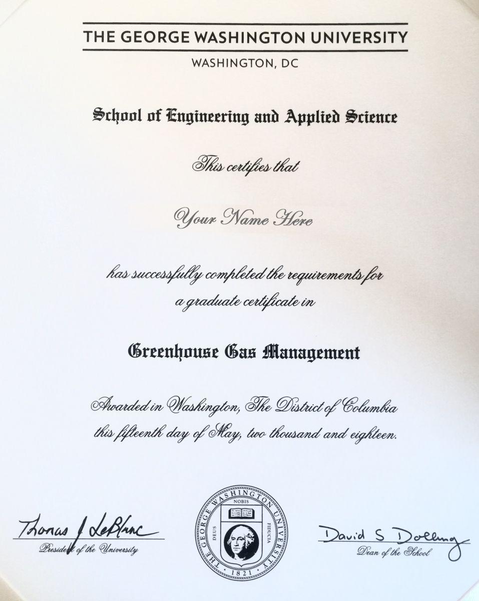 Ghg Cert Online Certificate Programs Certificate Programs Energy Management
