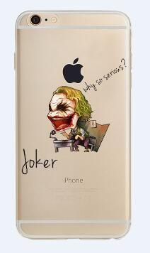 d22a72ad4d ciciber Phone Case Marvel The Avengers Batman DC Comics Superhero Soft  Transparent Case Cover for IPhone