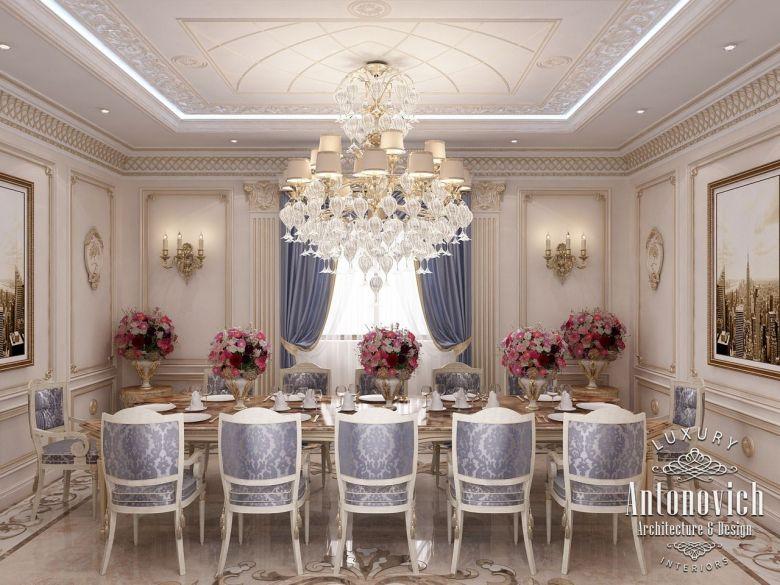 Image Result For Classic Villa Interiors Dinner RoomLuxury Interior DesignDream