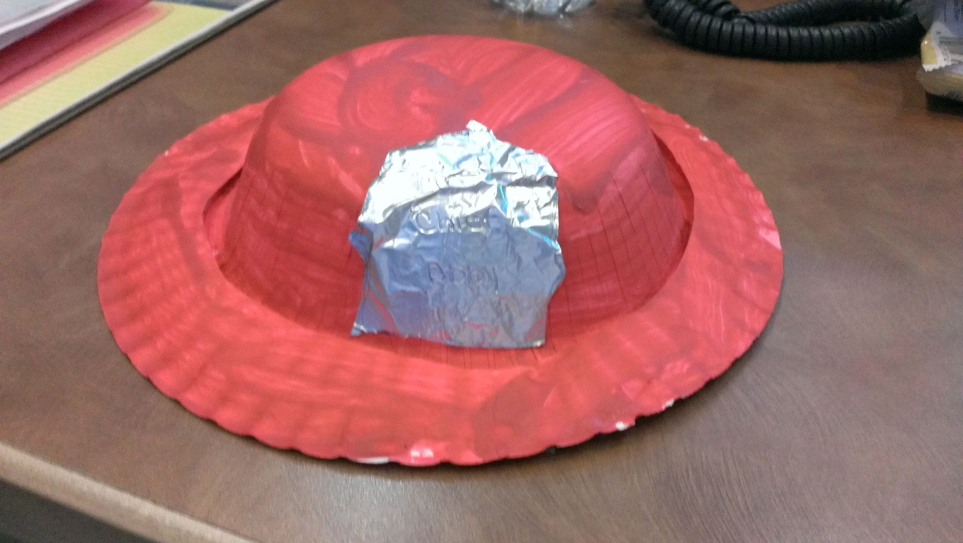 Community Helpers Craft Paper Bowl And Plate Firefighter