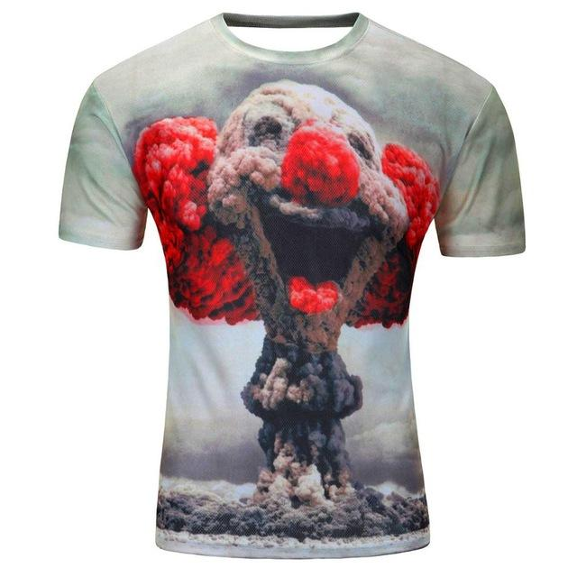 8900d4ffa04c MSA SIgnature High Quality Water Droplets Move Printed 3D T-shirts Punk 3D  Short Sleeve T-Shirt M-4XL  6 style Men s T-Shirts