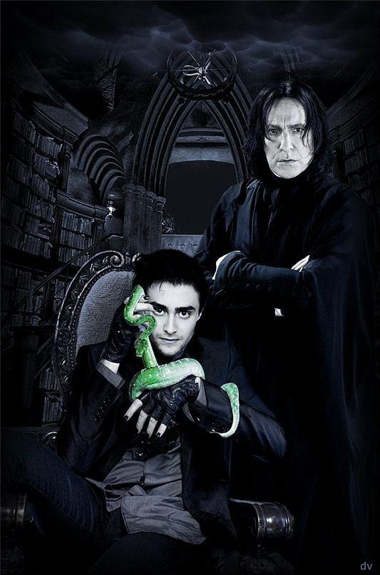 Pin by Tanya L on Slytherin   Harry potter severus, Harry potter