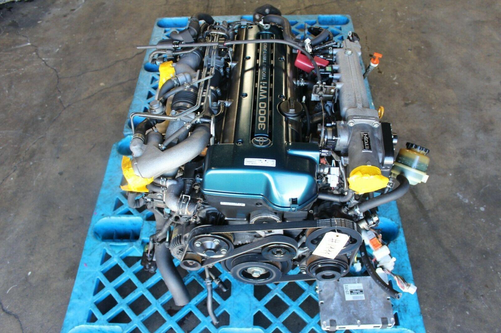 2jzgte Engine In 2020 Engineering Twin Turbo Jdm