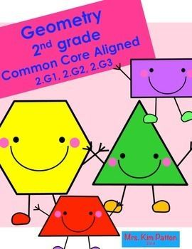 2nd Grade Common Core Geometry Unit. Second Grade Common Core Math ...