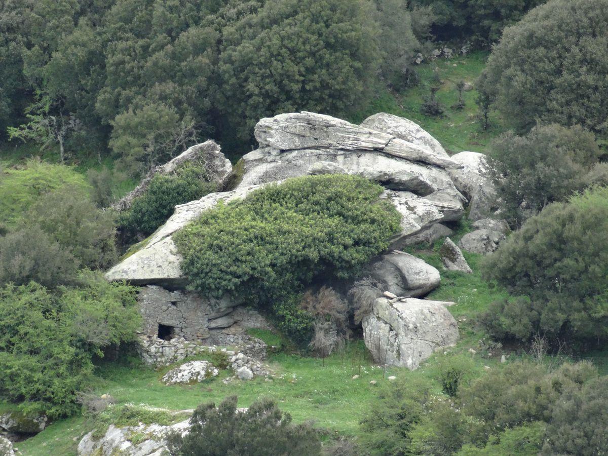 Ikari - Anti-pirate house at Langada, on the Greek island of Ikari