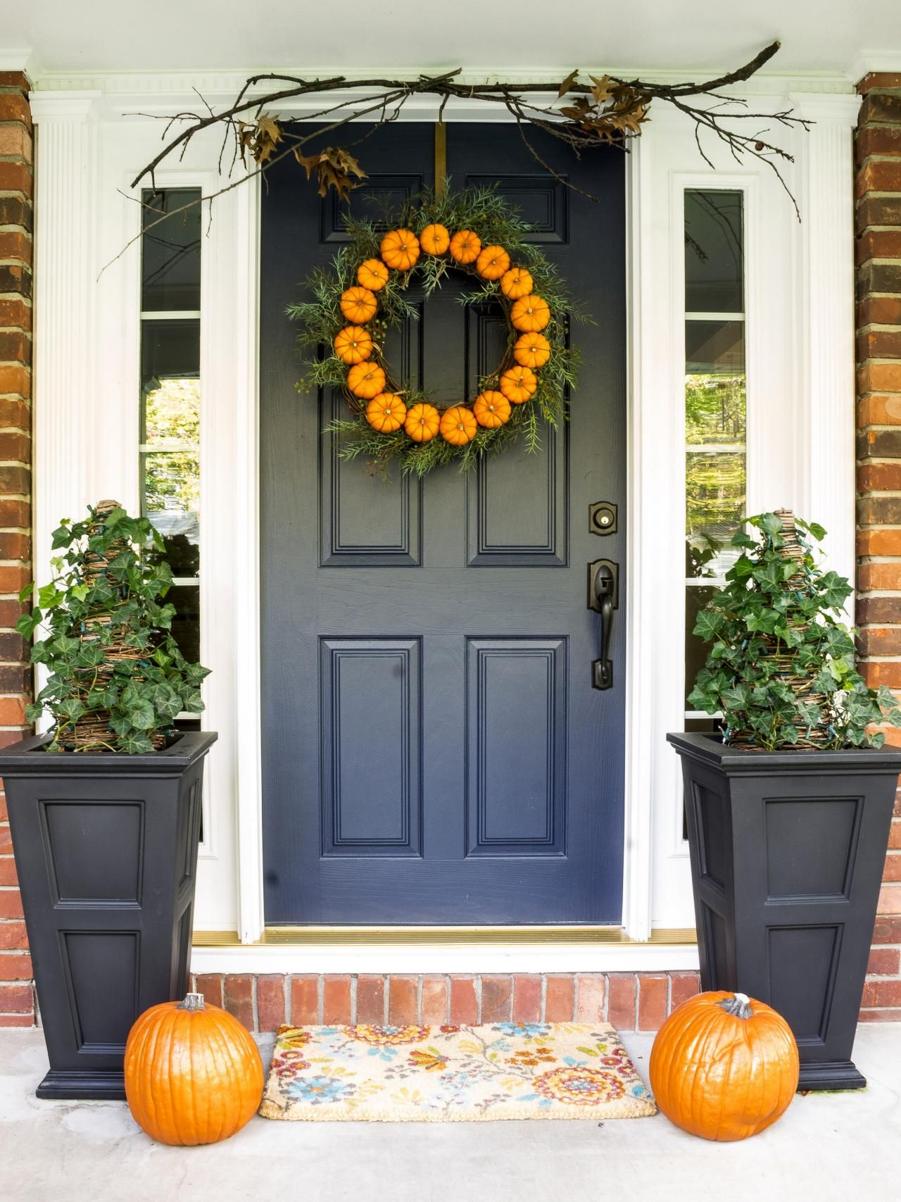 Popular colors to paint an entry door doors decorating and navy blue door dressed for october popular colors to paint an entry door installing rubansaba