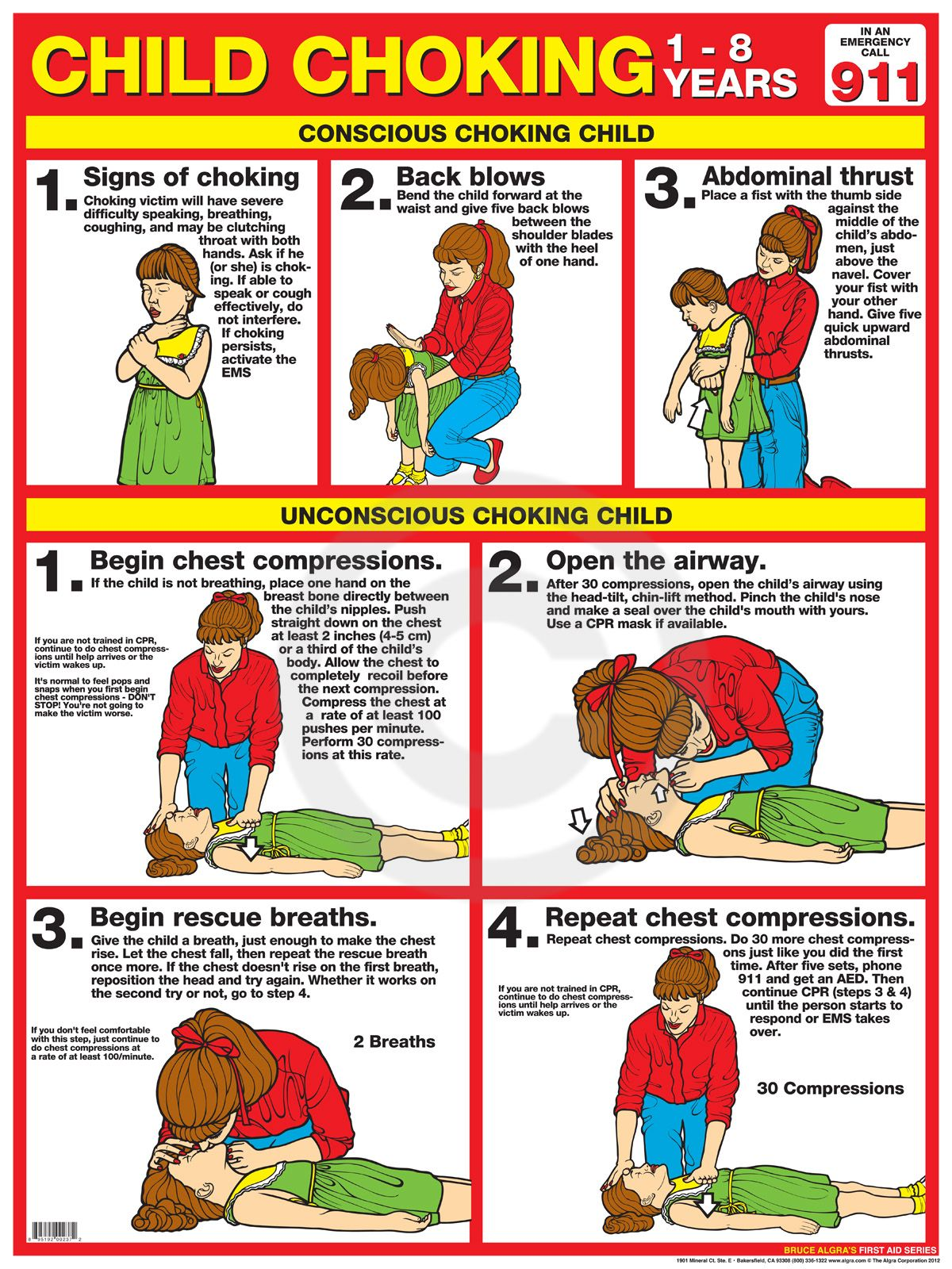 First Aid Choking Child
