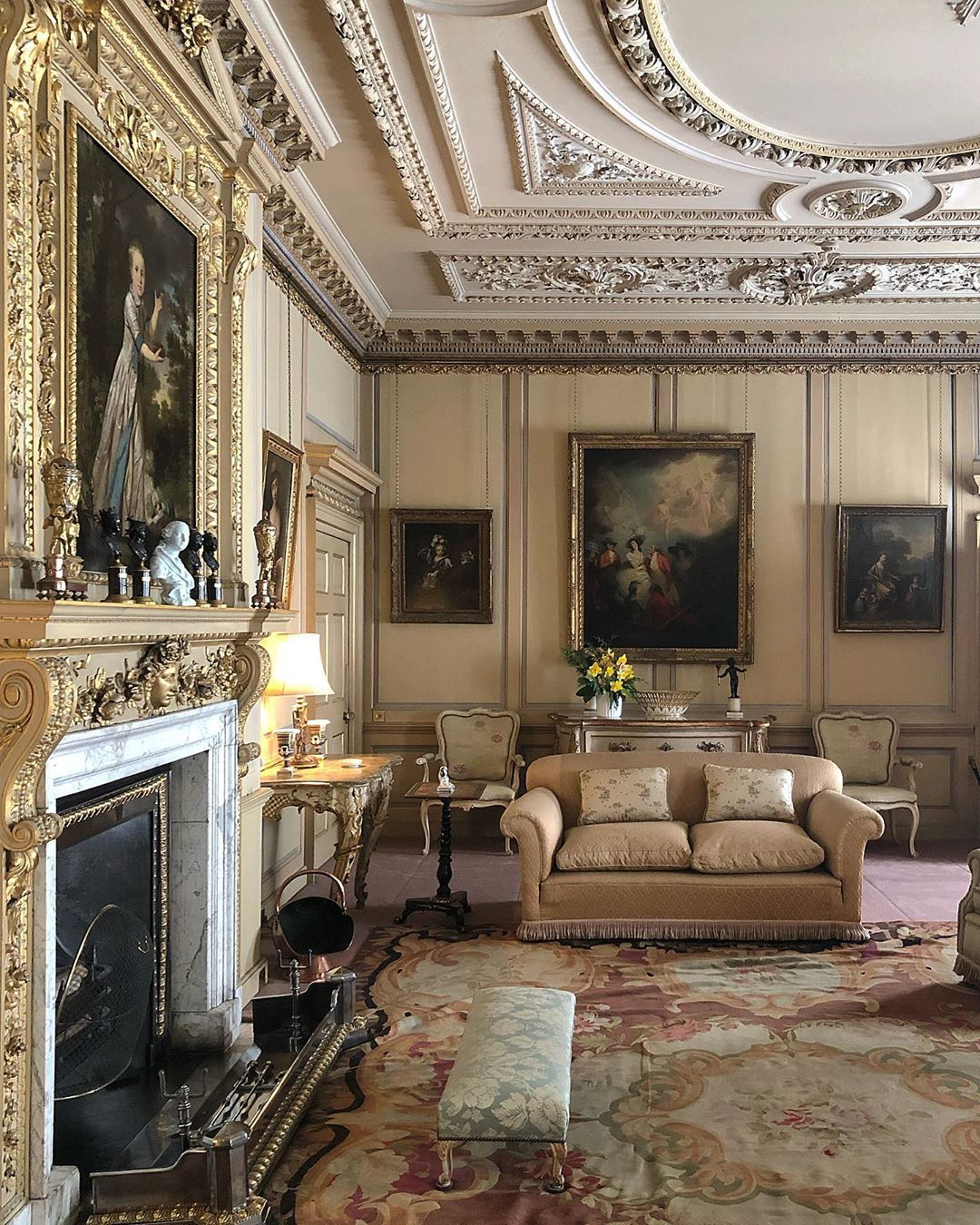 30s Glamour Countryhouse Interiors Fulllook Decoration