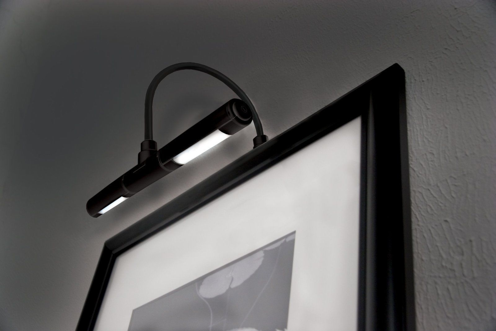 cordless art lighting fixtures. Cordless LED Picture Light Frame Battery Operated Wireless Art Lighting Black Fixtures