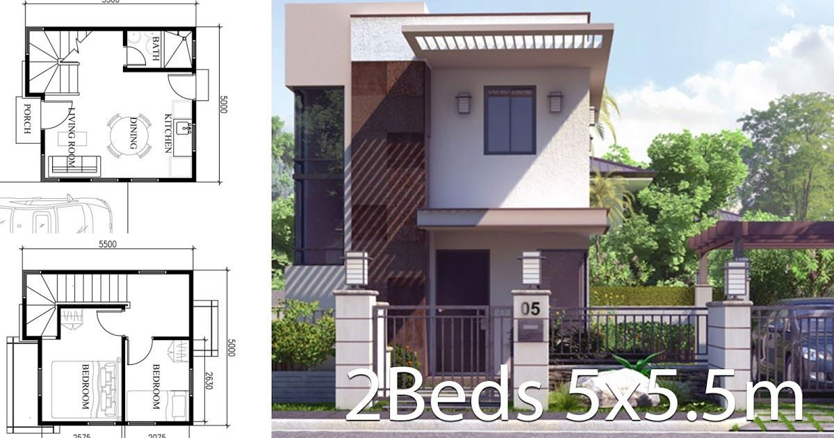 Here House Plan You Looking For 4 Small Home Design Plan With Front Side 6meters 1 Small Home Small House Design Architectural House Plans Home Design Plan