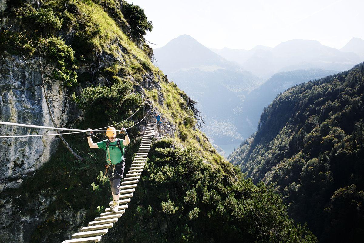 Klettersteig Für Anfänger : Via ferrata gran canaria klettersteig touren mit guide sunbonoo