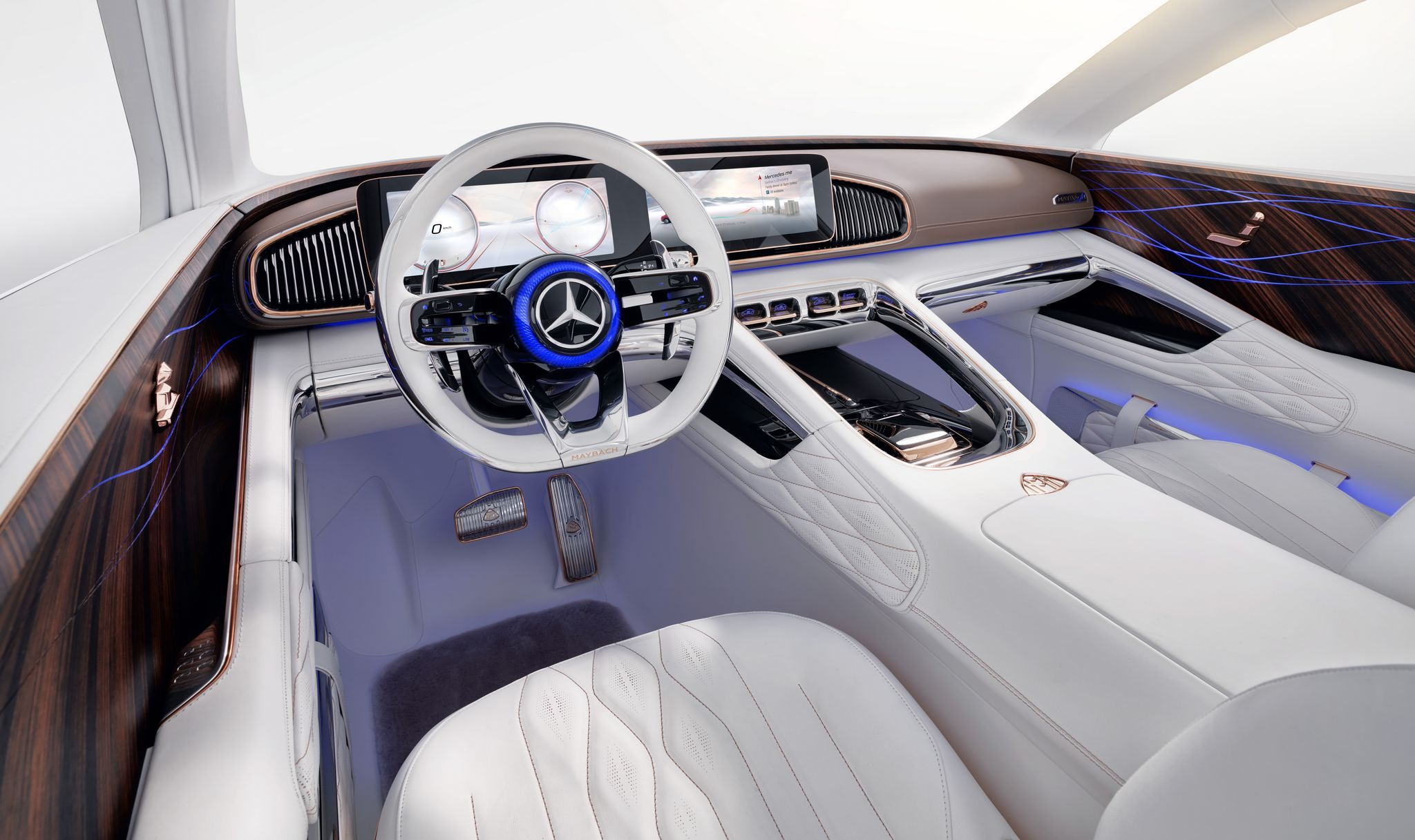 erste bilder der vision mercedes-maybach ultimate luxury | car ui ux