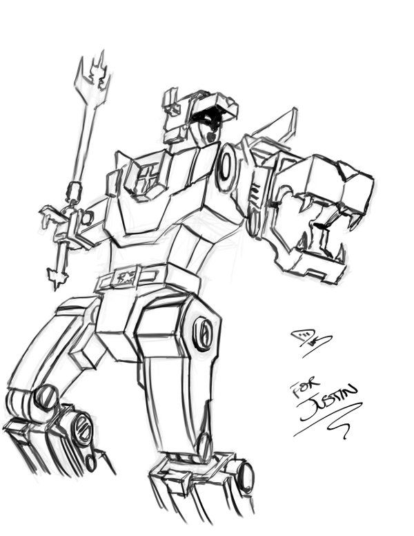 Voltron lions coloring pages by kimberly