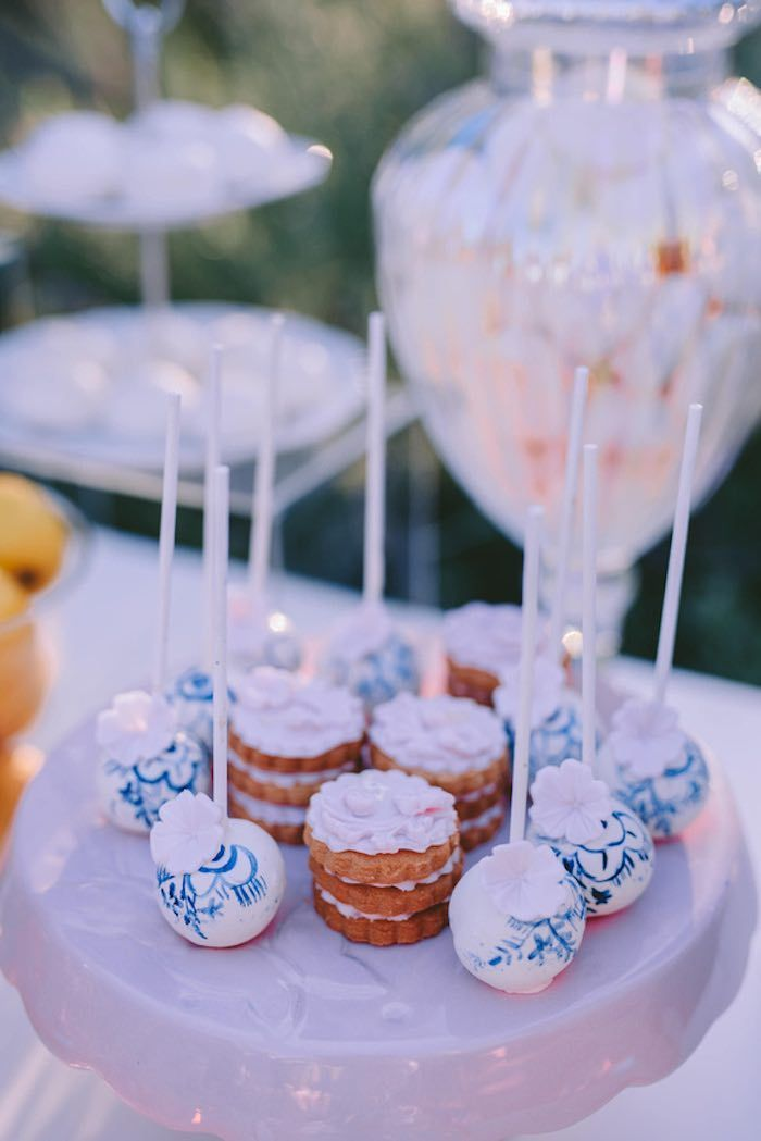 Floral Vineyard Baptism Celebration | Kara's Party