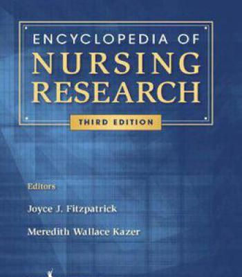 Encyclopedia Of Nursing Research Pdf Nursing Research Research Pdf Nurse