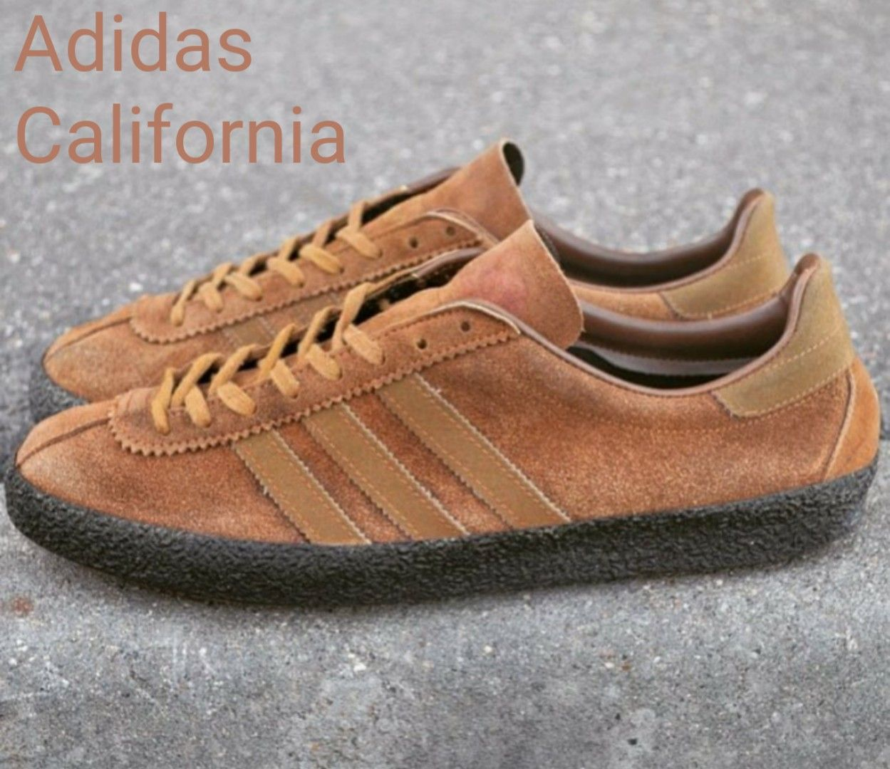 Stunning pair of vintage Adidas California these beauties