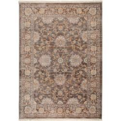 Photo of benuta Teppich Safira Braun 133×185 cm – Vintage Teppich im Used-Look benuta