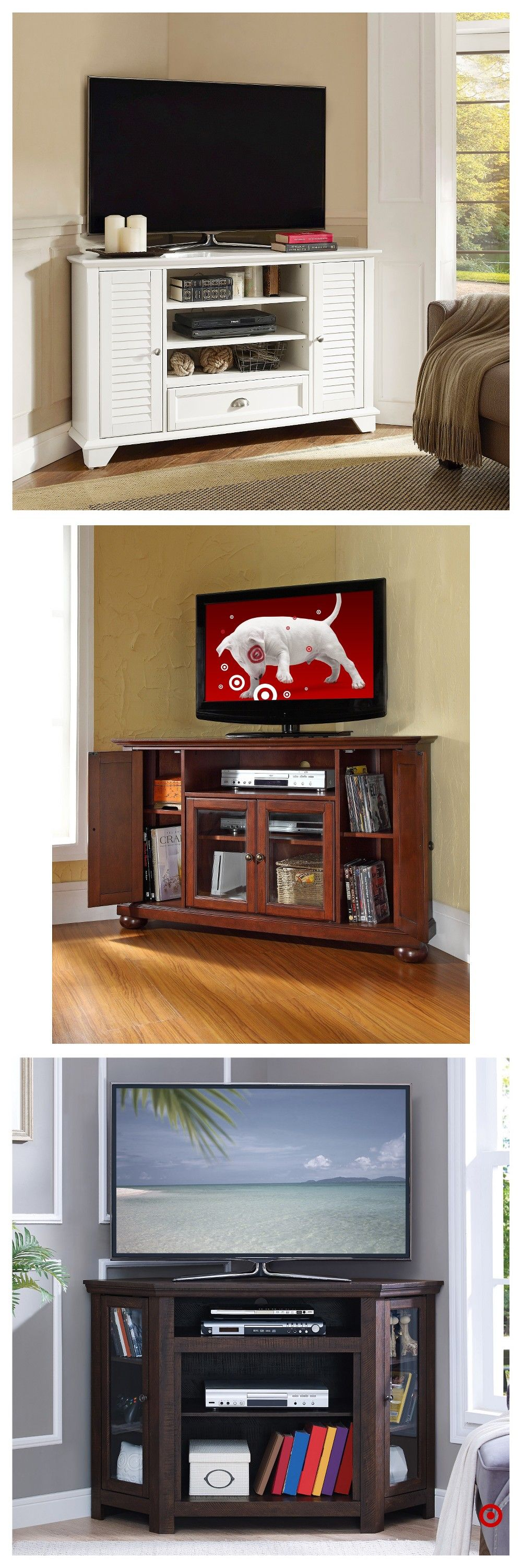 Shop Target For Corner Tv Stand You Will Love At Great Low Prices