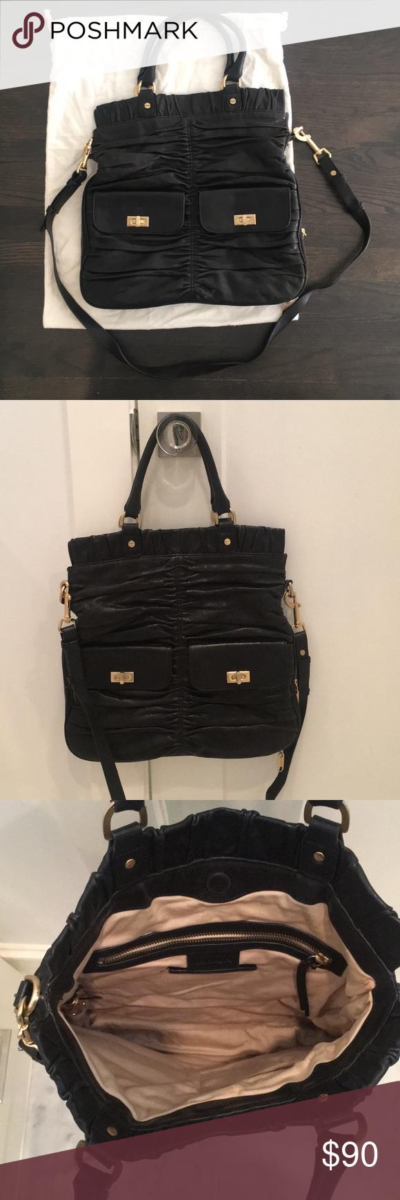 Alexis Hudson Black Handbag Crossbody