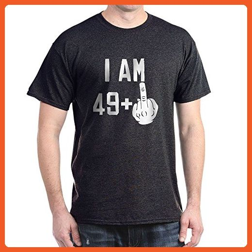 f46663a9d45 CafePress - Middle Finger 50Th Birthday T-Shirt - 100% Cotton T-Shirt -  Birthday shirts (*Partner-Link)