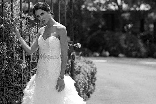 Dress by: Bride's Selection in The West Wedding Guide