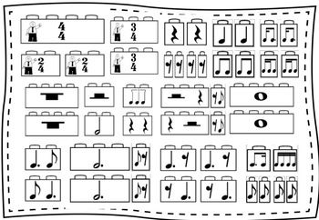 Looking for a way to review rhythms? Try these music
