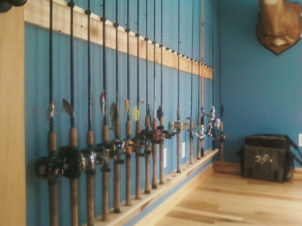 Fishing tackle and tackle room questions observations for Fishing tackle storage