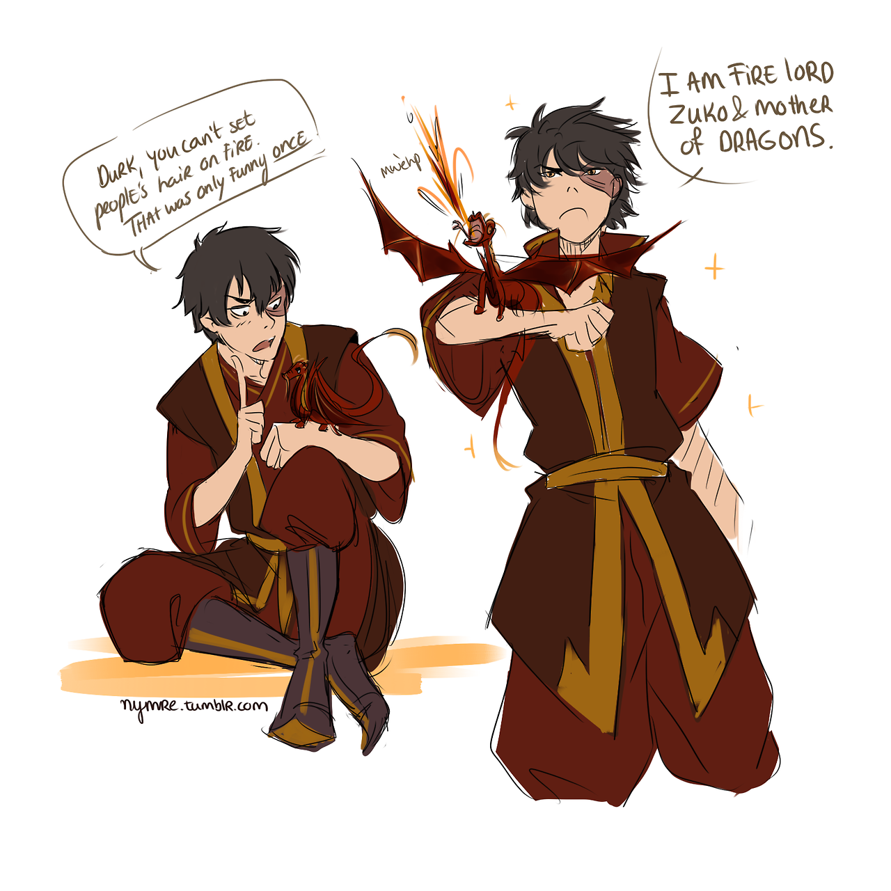 "Avatar Airbender: Nymre: "" Zuko, Dad Of Dragon Durk Headcanon's Are Very"