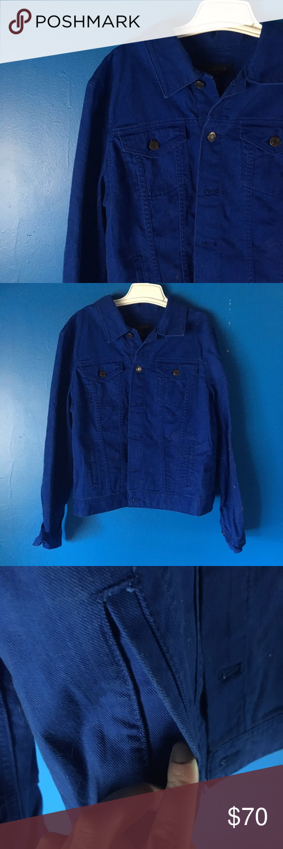Talbots Royal Blue Jean Jacket Brand New With Tag Jean Jacket From Talbots In A Stunning Royal Blue Color T Royal Blue Jeans Blue Jean Jacket Jacket Brands [ 1740 x 580 Pixel ]