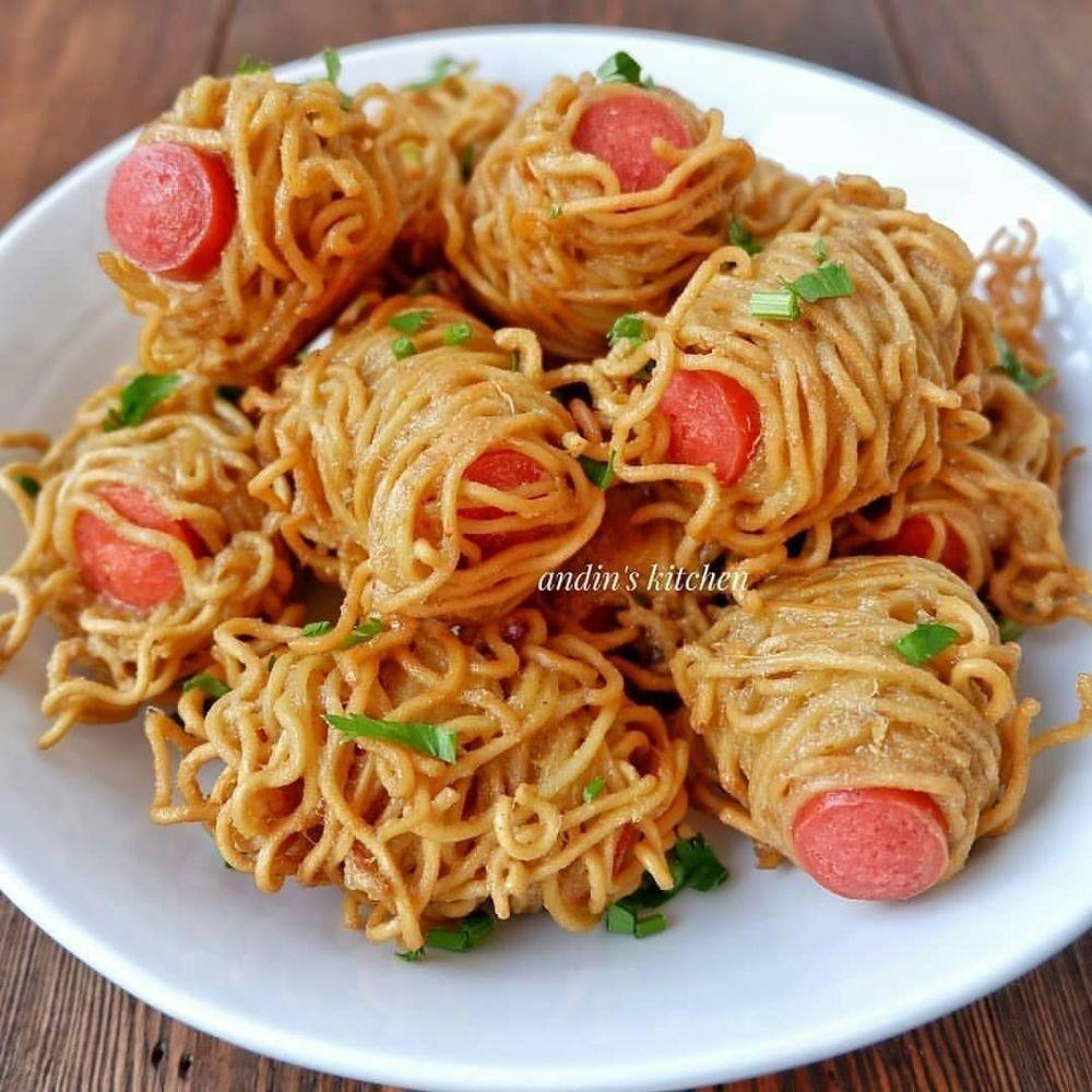Resep Camilan Mie Instan Berbagai Sumber Resep Resep Masakan Makanan Dan Minuman