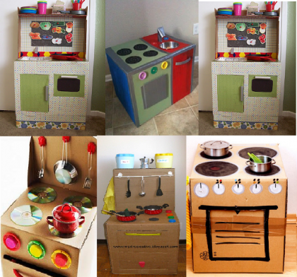 Cucina fai da te per bambini | Toy, DIY toys and Art attak