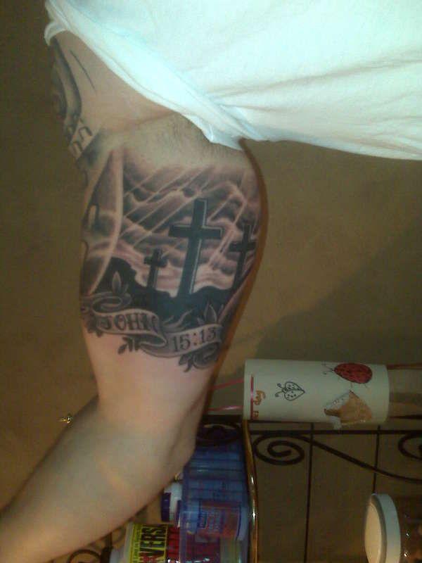 calvary cross tattoo - Google Search | Tattoos | Tattoos ...