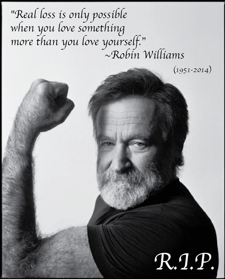 Robin Williams Love : robin, williams, Something, Yourself, Robin, Williams, Quotes,, Williams,