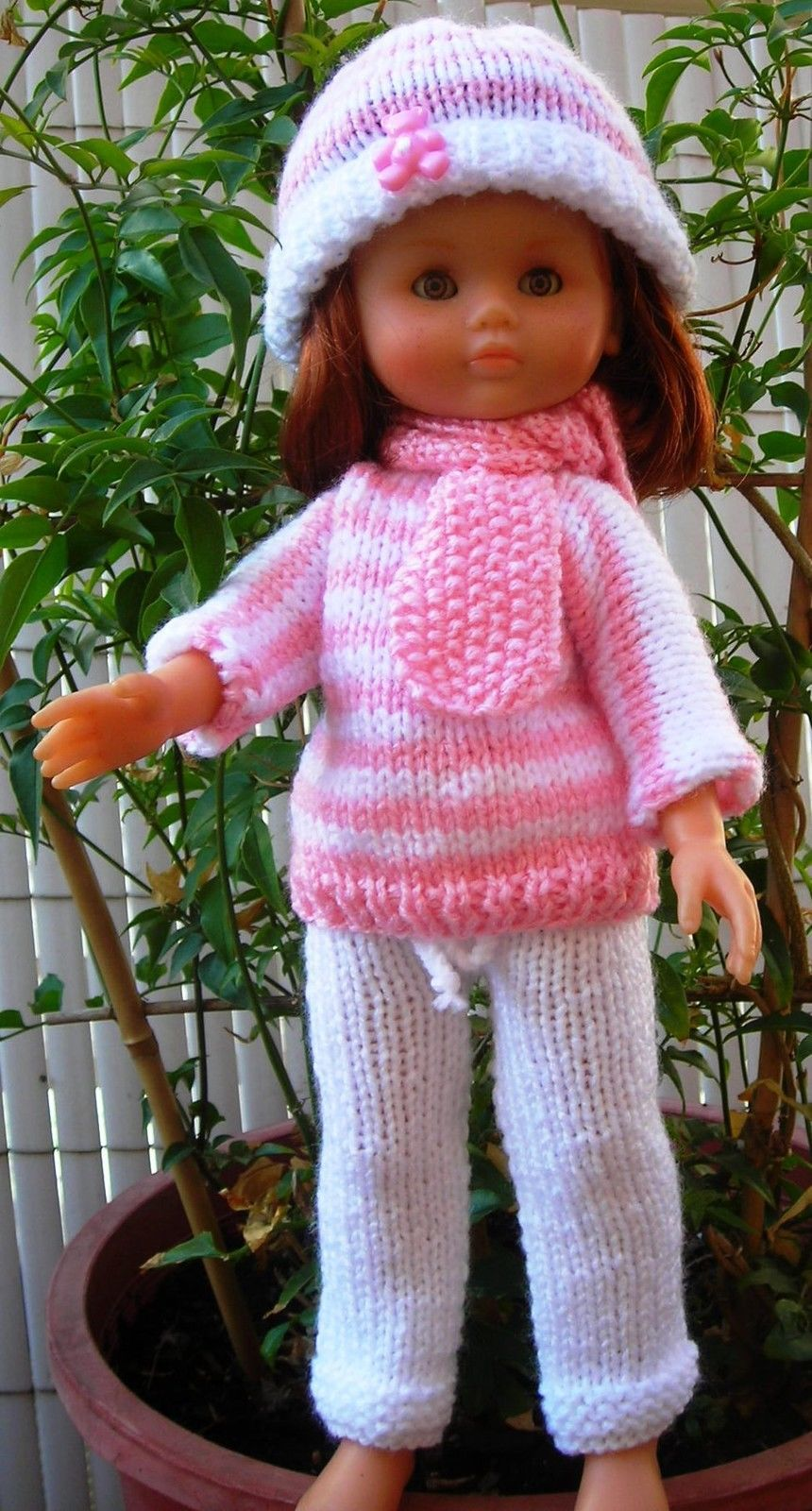 Contemporáneo Patrones Muñeca Crochet Gratuitas Para Muñecas 18 ...