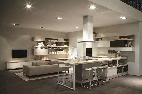 foodshelf and ki kitchen designs from scavolini @ materials