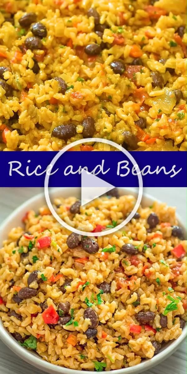 Ive tried so many variations of Rice and Beans and this one is definitely the winner It makes an amazing side dish or a satisfying meal I honestly cant wait for you to tr...